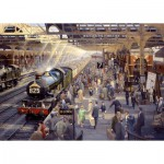Puzzle  Gibsons-G6151 Philip d'Hawkins : Summer Saturday at Snow Hill