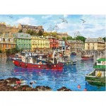 Puzzle  Gibsons-G6201 Dominic Davison - Cobh Harbour