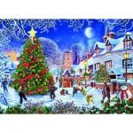 Puzzle  Gibsons-G6224 Steve Crisp - The Village Christmas Tree