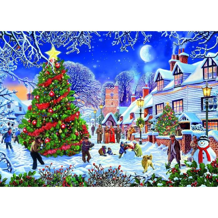 Steve Crisp - The Village Christmas Tree