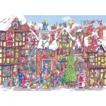 Puzzle  Gibsons-G6251 Seventy Six Santas