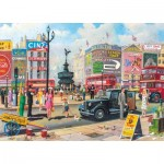 Puzzle  Gibsons-G6256 Derek Roberts - Piccadilly