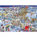Gibsons-G7013 Jigsaw Puzzle - 1000 Pieces - I Love Christmas