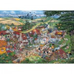 Gibsons-G794 Jigsaw Puzzle - 1000 Pieces - I love the Farmyard