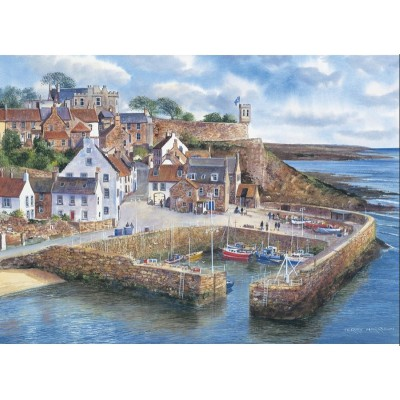 Gibsons-G798 Jigsaw Puzzle - 1000 Pieces - Crail Harbour