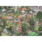 Gibsons-G811 Jigsaw Puzzle - 1000 Pieces - I love Gardening