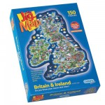 Gibsons-G841 Jigsaw Puzzle - 150 Pieces - Maxi - Great Britain and Ireland