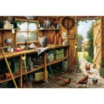 Gibsons-G846 Jigsaw Puzzle - 500 Pieces - The Garden Shed