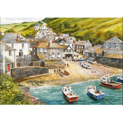 Gibsons-G892 Jigsaw Puzzle - 500 Pieces - Fishing Port