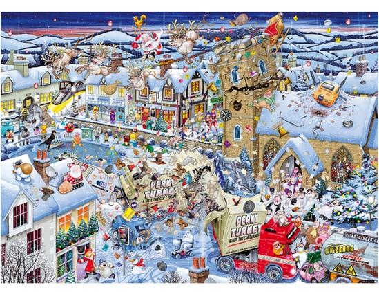 Jigsaw Puzzle - 1000 Pieces - I Love Christmas 1000 piece jigsaw puzzle