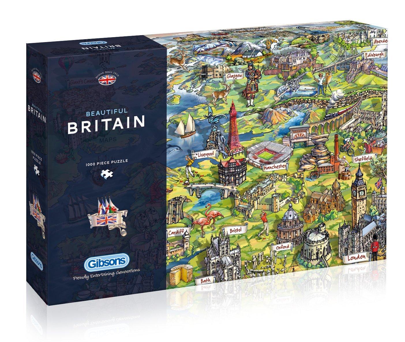 puzzle maria rabinsky beautiful britain gibsons g7080 1000