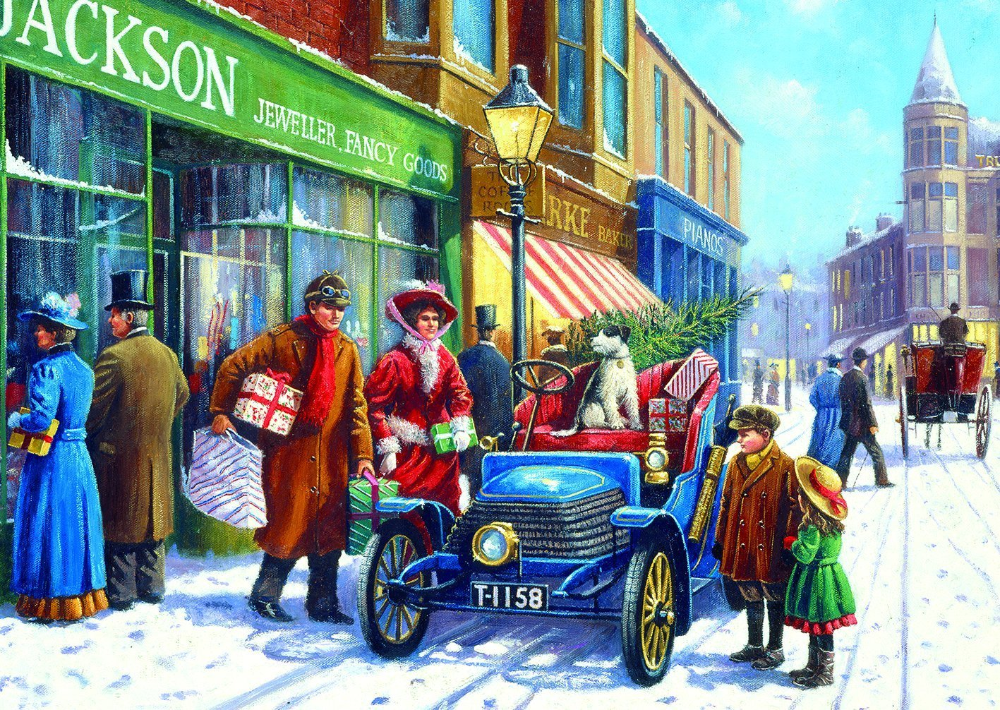 XXL Pieces - Kevin Walsh - Family Christmas Shop 100 piece jigsaw puzzle