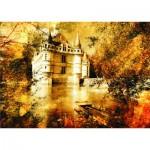 Puzzle  Gold-Puzzle-60188 Azay le Rideau Castle