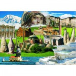 Puzzle  Gold-Puzzle-60256 Cultural Heritage of Turkey