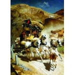 Puzzle  Gold-Puzzle-60379 John Rudolf Koller: The Gotthardpost