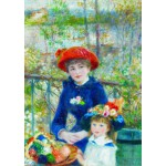 Puzzle  Gold-Puzzle-60386 Renoir Auguste: Two Sisters on the Terrace