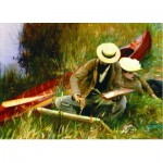 Puzzle  Gold-Puzzle-60416 John Singer Sargent: Outdoor Study
