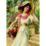 Puzzle  Gold-Puzzle-60447 Emile Vernon : Flower Garden