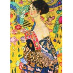 Puzzle  Gold-Puzzle-60522 Klimt Gustav : Lady with Fan
