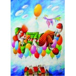 Puzzle  Gold-Puzzle-60577 Yuri Macik: Clown's Dream