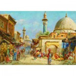 Puzzle  Gold-Puzzle-60744 Carl Wuttke: Orientalist Street View