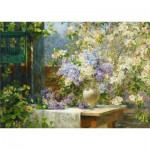 Puzzle  Gold-Puzzle-60805 Marie Egner: In the Blossoming Bower