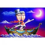 Puzzle  Gold-Puzzle-61321 Wedding Travel