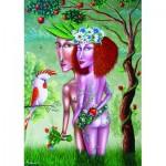 Puzzle  Gold-Puzzle-61369 Adam and Eve