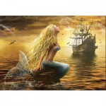 Puzzle  Gold-Puzzle-61406 Mermaid