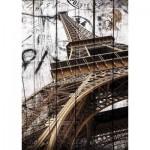 Puzzle  Gold-Puzzle-61451 Vintage Eiffel Tower