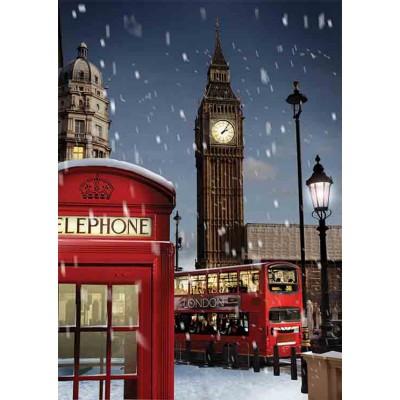 Puzzle Gold-Puzzle-61536 London at Xmas