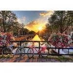Puzzle  Gold-Puzzle-61543 Sunrise in Amsterdam