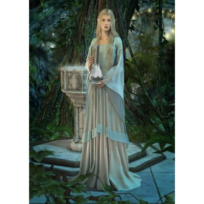 Puzzle Gold-Puzzle-61642 Queen of Elves