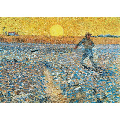 Puzzle Grafika-Kids-00005 Van Gogh : The Sower, 1888