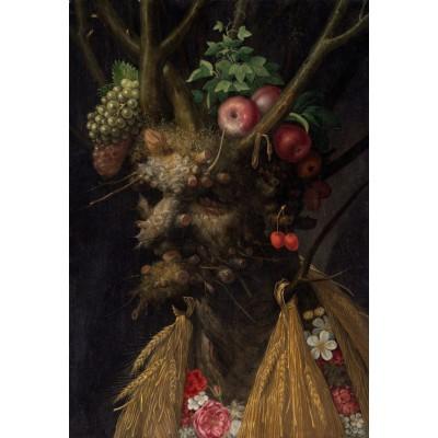 Puzzle Grafika-Kids-00049 XXL Pieces - Arcimboldo Giuseppe: Four Seasons in One Head, 1590