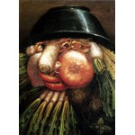 Puzzle  Grafika-Kids-00053 Arcimboldo Giuseppe: The Greengrocer