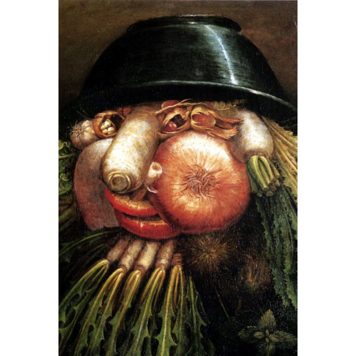 Arcimboldo Giuseppe: The Greengrocer