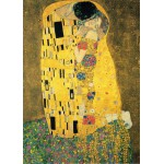 Puzzle  Grafika-Kids-00056 Klimt Gustav : The Kiss, 1907-1908