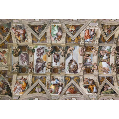 Puzzle Grafika-Kids-00075 XXL Pieces - Michelangelo: Sistine Chapel