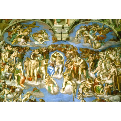 Puzzle Grafika-Kids-00078 XXL Pieces - Michelangelo : Judgement Day
