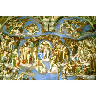 Puzzle Grafika-Kids-00080 Michelangelo : Judgement Day