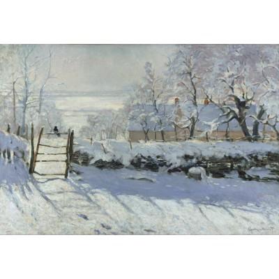 Puzzle Grafika-Kids-00081 XXL Pieces - Claude Monet : The Magpie, 1868-1869