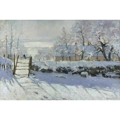 Puzzle Grafika-Kids-00083 Claude Monet : The Magpie, 1868-1869