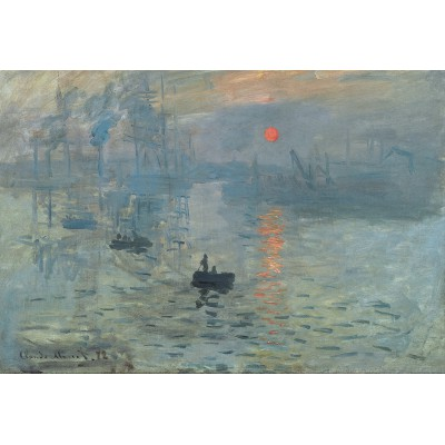 Puzzle Grafika-Kids-00087 XXL Pieces - Claude Monet: Impression au Soleil Levant, 1872
