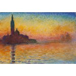 Puzzle  Grafika-Kids-00095 XXL Pieces - Claude Monet: Saint-Georges-Majeur au Crépuscule, 1908