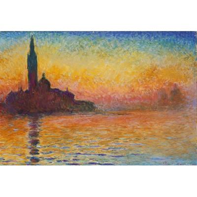 Puzzle Grafika-Kids-00095 XXL Pieces - Claude Monet: Saint-Georges-Majeur au Crépuscule, 1908