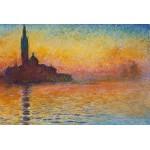 Puzzle  Grafika-Kids-00097 Claude Monet: Saint-Georges-Majeur au Crépuscule, 1908