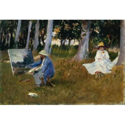 Puzzle Grafika-Kids-00101 XXL Pieces - Claude Monet by John Singer Sargent, 1885