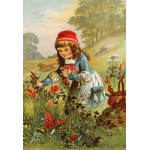 Puzzle  Grafika-Kids-00104 XXL Pieces - Little Red Riding Hood, illustration by Carl Offterdinger