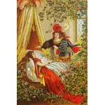 Puzzle  Grafika-Kids-00118 Sleeping Beauty, illustration by Carl Offterdinger